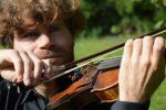 Sólové housle, s orchestrem a s pěveckým sborem